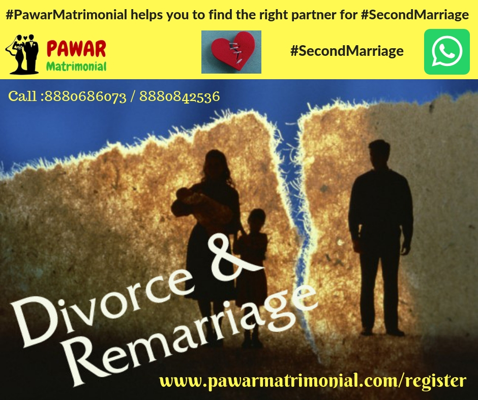 #PawarMatrimonialhelps you to find right partner for #SecondMarriage 1